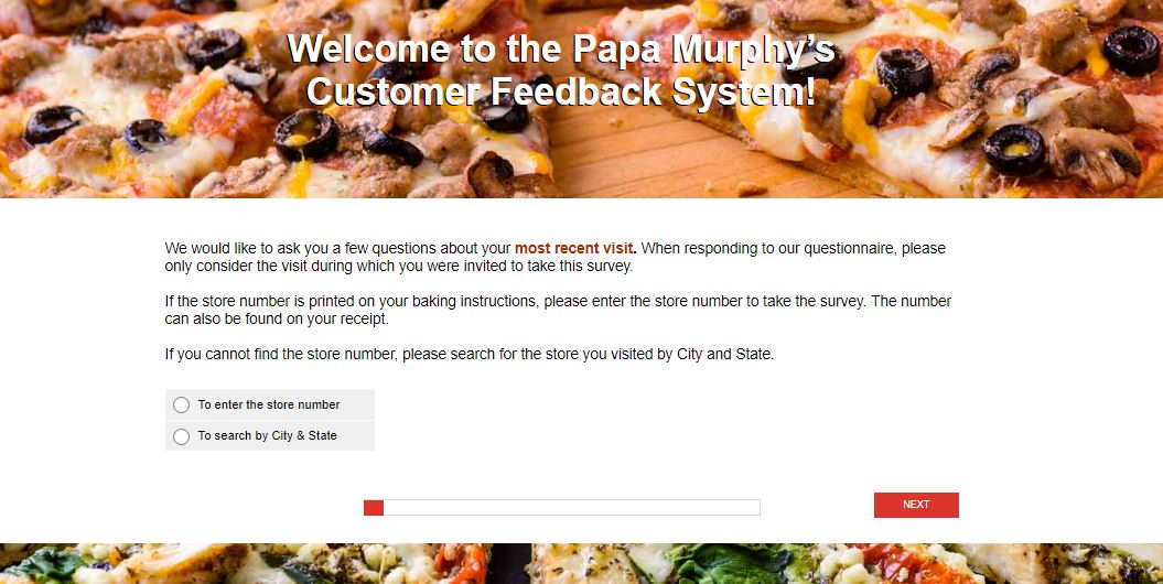Papa Murphy's Survey Step By Step Guide