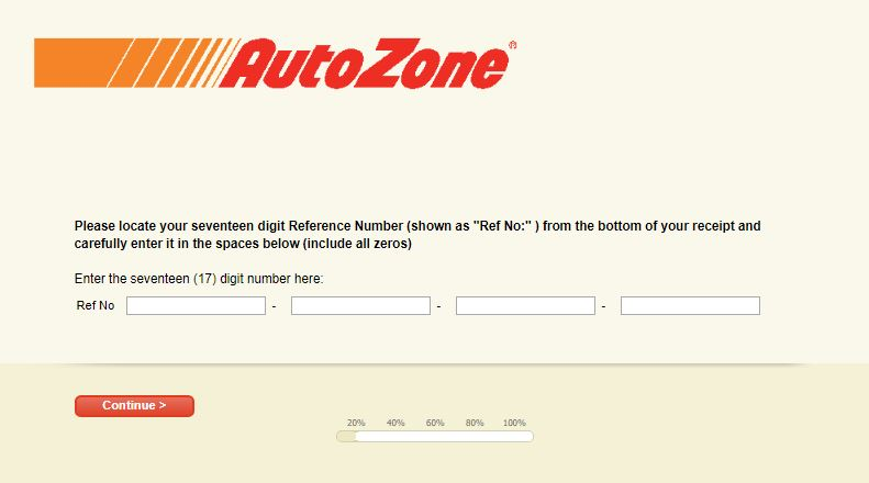 Autozone Survey Step By Step Guide 4