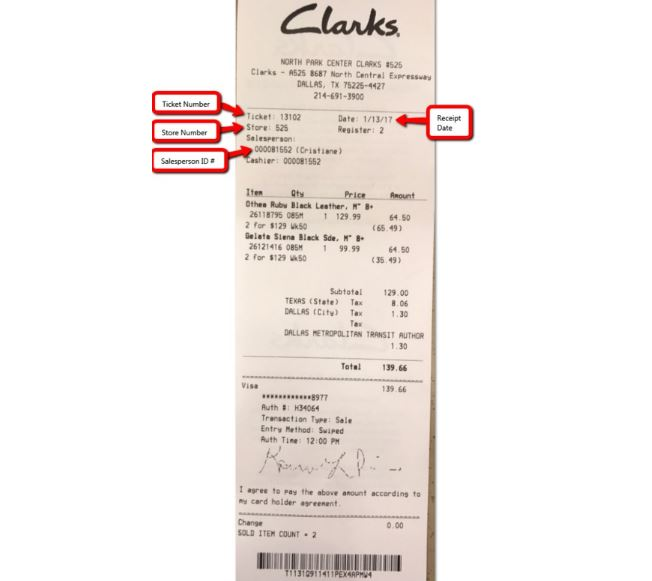 Clarks Customer Satisfaction Survey guide 3