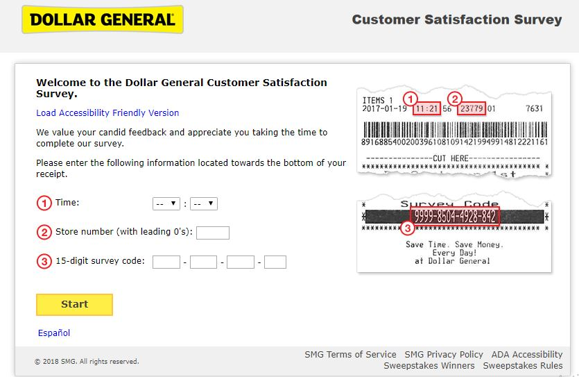 Dollar General Customer Satisfaction Survey Step By Step Guide