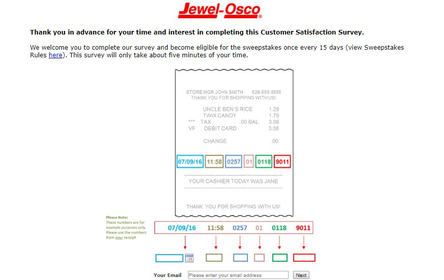 Jewel-Osco Customer Satisfaction Survey guide