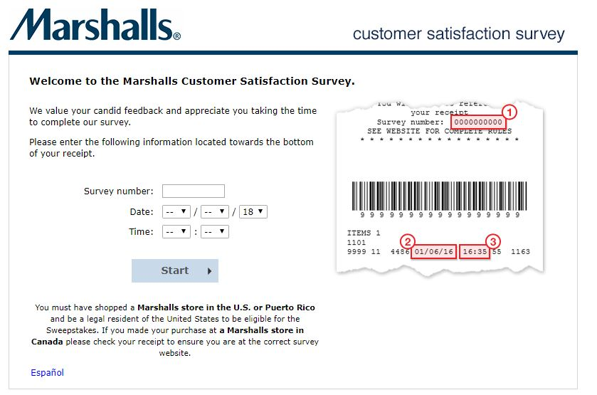 Marshalls Survey Step By Step Guide