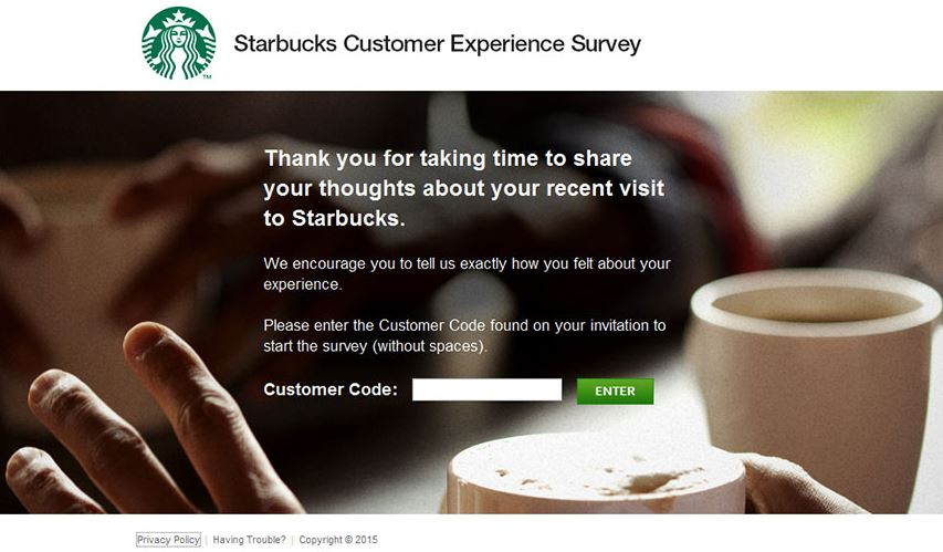 Starbucks Customer Experience Survey Step By Step Guide