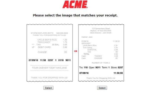 ACME Survey Step By Step Guide 1