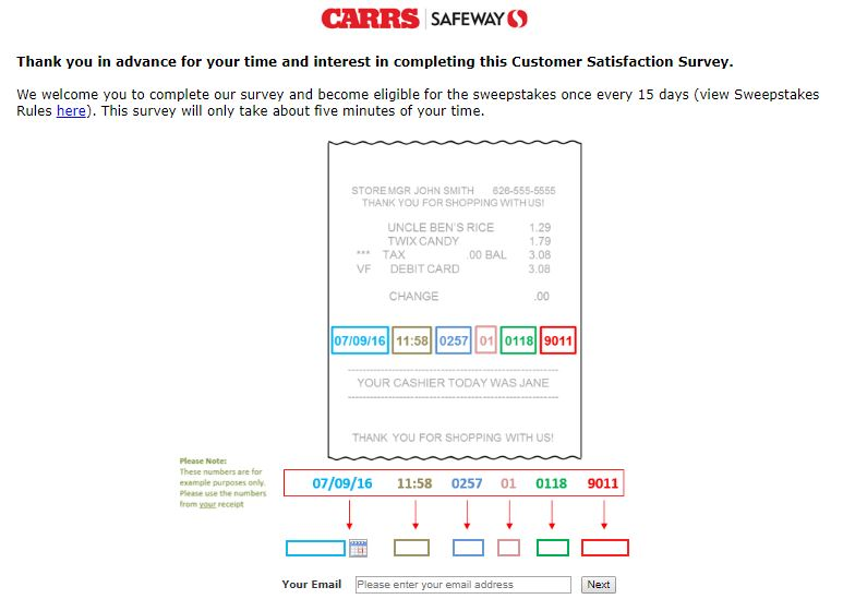 CARRS Survey Step By Step Guide
