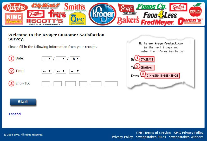 Kroger Customer Satisfaction Survey guide