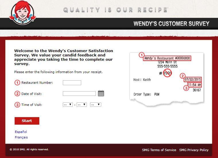 Wendys Customer Satisfaction Survey guide