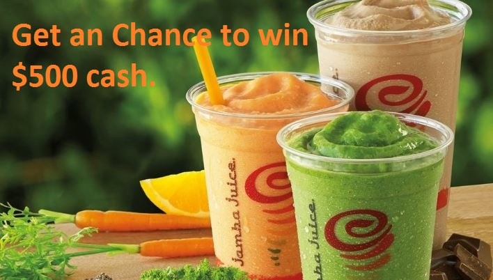 Jamba Juice Survey Rewards