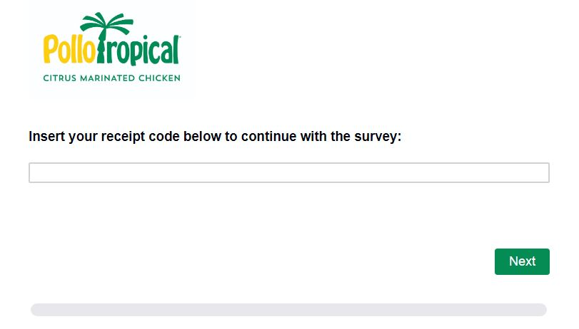Pollo Tropical Customer Satisfaction Survey
