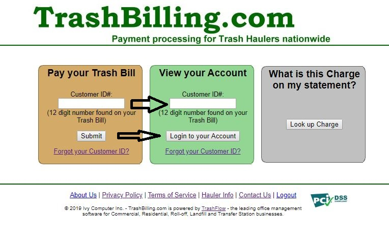 Pay your Trashbill